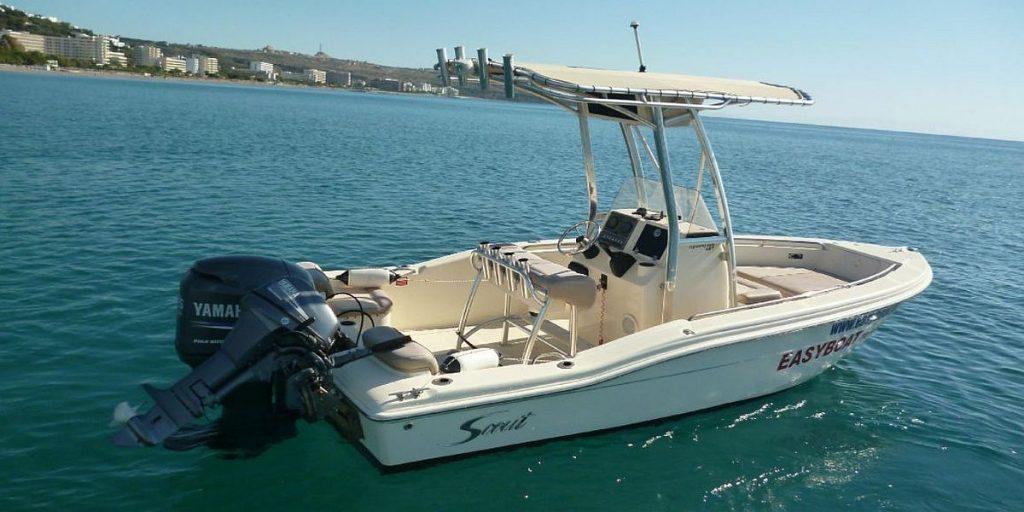 Easy boat Rhodos